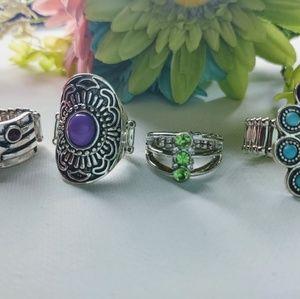 paparazzi Jewelry - Bundle Stretch Rings